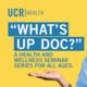 What's Up Doc - Parkinson's Disease