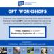 OPT Workshop (International Students Only)