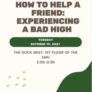 事件:如何帮助朋友:经历一个糟糕的高潮