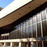 B. Iden Payne Theatre, F. Loren Winship Drama Building (WIN)