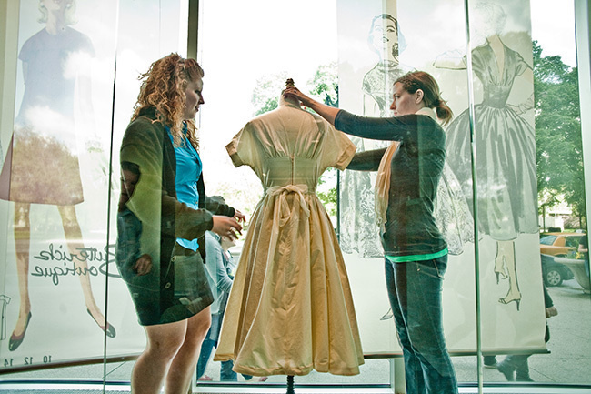 Fashion Studies Exhibition Windows