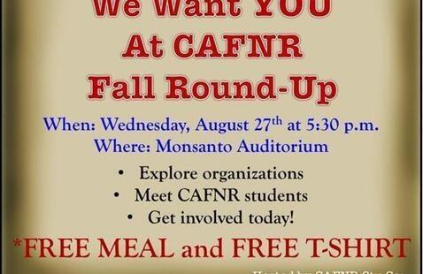 CAFNR Fall Roundup