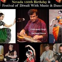 "Tach Celebrating ""Nevada 150th Birthday & Festival of Diwali with Music and Dance"""