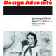 "Susan Szenasy's book, ""Szenasy, Design Advocate"", now available for purchase at the risd:store"