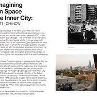 Reimagining open Space in the Inner City