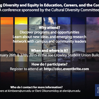 Exploring Diversity and Equity in Education, Careers, and the Community