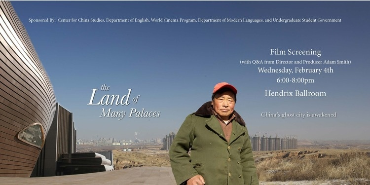 "Documentary Film Screening: ""The Land of Many Palaces"""