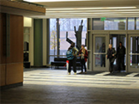 Center for the Arts First Floor Lobby