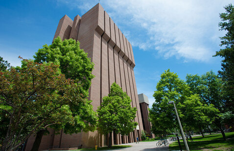 R. L. Smith Mechanical Engineering-Engineering Mechanics Building (MEEM)