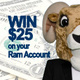 """Select """"I'm Going"""" to this event to earn a chance to win $25 dollars on your Ram Account.   - more info: www.uri.edu/home/students/events.html"""