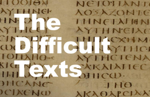 """Annual Summer Scripture Seminar: """"The Difficult Texts"""" featuring Dr. Daniel Smith-Christopher"""