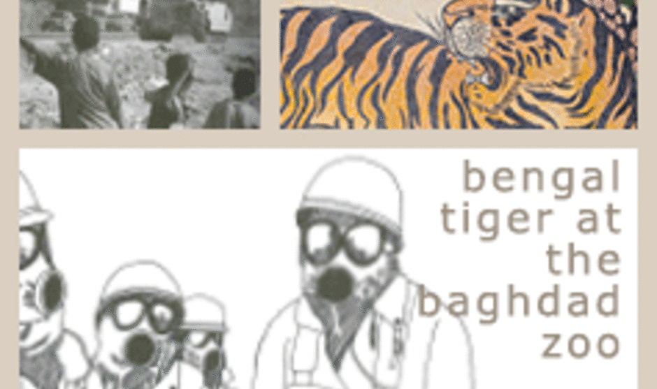 Tech Theatre Presents Bengal Tiger at the Baghdad Zoo by Rajiv Joseph