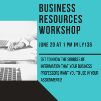 Business Resources Workshop