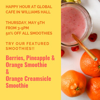 Happy Hour at Global Cafe 5/9/19 3-5pm | Dining Services