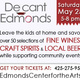 Decant Edmonds: wine, spirits & beer tasting event