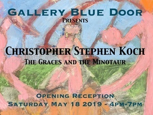 """Gallery Blue Door presents """"The Graces and the Minotaur"""""""