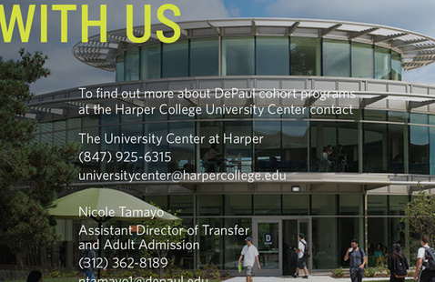CANCELED: DePaul University Transfer Counselor Appointments