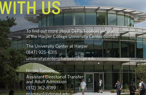 CANCELED: DePaul University Transfer Walk-in Wednesday