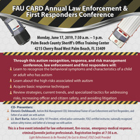 FAU CARD Annual Law Enforcement and First responders Conference