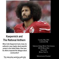 Kaepernick and The National Anthem