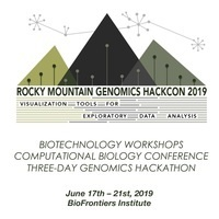 2019 Rocky Mountain Genomics HackCon: Visualization Tools for Exploring Data Analysis