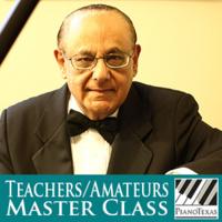 PianoTexas Teachers/Amateurs Master Class: Harold Martina
