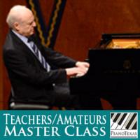 PianoTexas Teachers/Amateurs Master Class: Arie Vardi