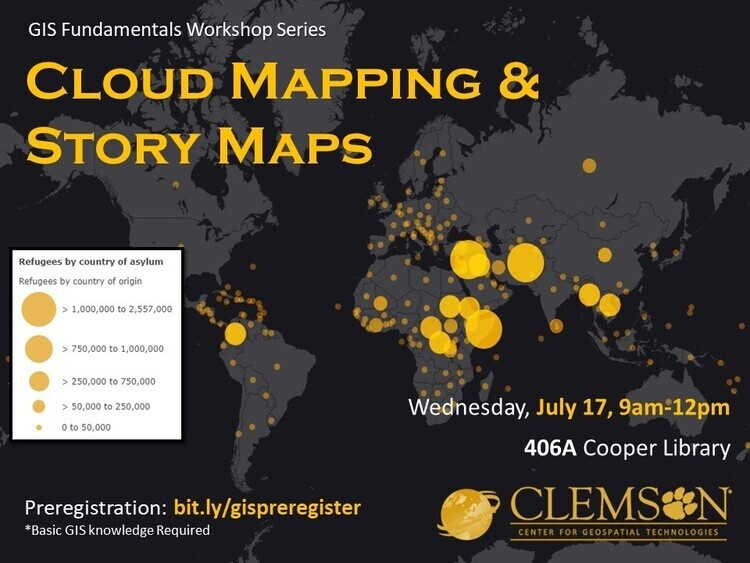 Intro to Cloud Mapping &Story MapsWorkshop Workshop