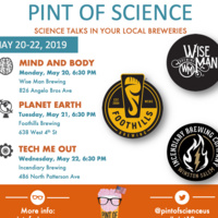 """A Pint of Science: """"Tech Me Out"""""""