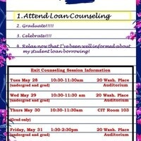 Student loan session | Exit counseling