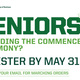 RSVP Deadline: Business Commencement Ceremony