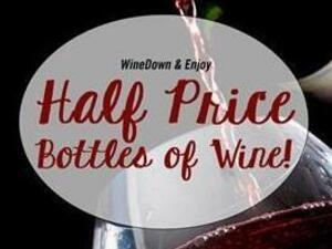 Half Price Bottles of Wine Thursdays at Philips Seafood
