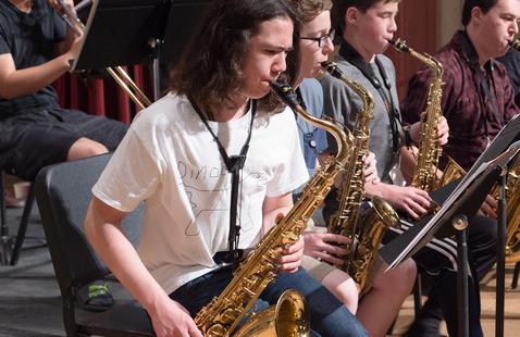 Pacific Music Camp, Student Jazz Ensembles