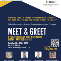 DePaul Information Systems Organization Meet & Greet