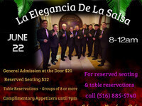 "Latin Night with ""La Elegancia de la Salsa"""
