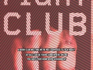 Book Club: Fight Club