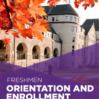 Orientation and Enrollment for First-Year Students
