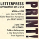 Letterpress Appreciation Day Open House