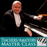 PianoTexas Teachers/Amateurs Master Class: Emile Naoumoff