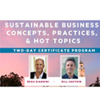 Introduction to Sustainable Business 1: Concepts, Practices and Hot Topics - Executive Education course