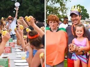 Peach Festival at Harbes Farm