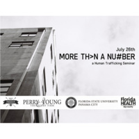 More Th>n A Nu#ber: A Human-Trafficking Seminar