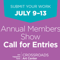 Call for Entries - Annual Members Show