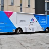 Mobile Mammography Van/Mamografía Móvil: Dr. Theresa Mack's Clinic