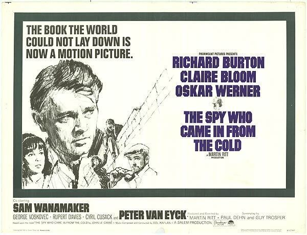 FILMTALK - The Spy Who Came in From the Cold - Enoch Pratt Free ...