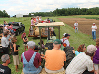 Field Day at Willsboro Research Farm