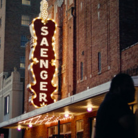Saenger Theatre Hattiesburg Exterior Sign