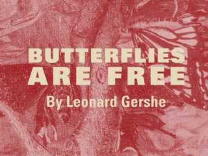 poster of butterflies are free