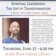 Book Talk: Spiritual Leadership