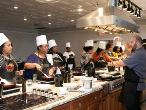 Viking Studio Cooking Class